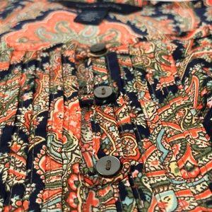 Tommy Hilfiger Tops - Tommy Hilfiger- Tie back blouse, paisley, size S